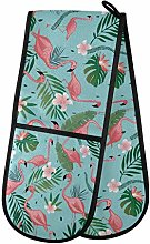 TropicalLife Irud Double Mitts Oven Glove Pink