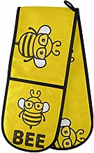 TropicalLife Irud Double Mitts Oven Glove Yellow