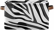 TropicalLife JNlover Animal Zebra Print Square