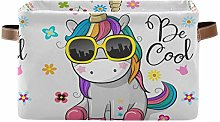 TropicalLife JNlover Cute Colorful Cartoon Unicorn