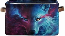 TropicalLife JNlover Fantasy Animal Wolf Print
