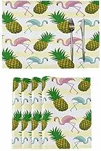 TropicalLife Lerous Placemats Set of 6 Imitation
