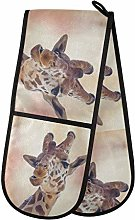 TropicalLife LUCKYEAH Animal Giraffe Print Double