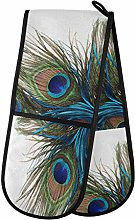 TropicalLife LUCKYEAH Animal Peacock Feather