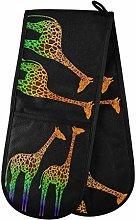 TropicalLife LUCKYEAH Colorful Animal Giraffe