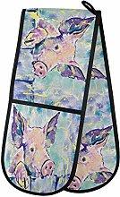 TropicalLife LUCKYEAH Cute Animal Pig Pattern