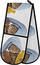TropicalLife LUCKYEAH Cute Cat Kitten Take Shower