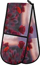 TropicalLife LUCKYEAH Flower Poppies Double Oven