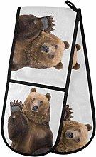 TropicalLife LUCKYEAH Funny Animal Bear Double
