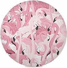 TropicalLife LUCKYEAH Place Mats Animal Flamingo