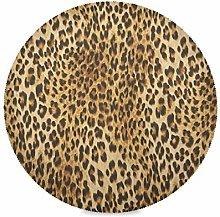 TropicalLife LUCKYEAH Place Mats Animal Leopard