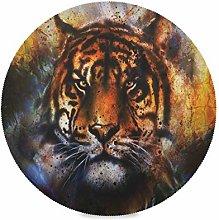 TropicalLife LUCKYEAH Place Mats Animal Tiger