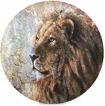 TropicalLife LUCKYEAH Place Mats Art Painting Lion