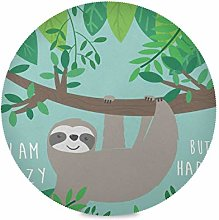 TropicalLife LUCKYEAH Place Mats Lovely Sloth