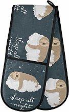 TropicalLife LUCKYEAH Sloth Sleep Cloud Star Quote