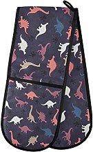 TropicalLife LUCKYEAH Vintage Dinosaur Paw Print