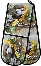 TropicalLife OOWOW Double Oven Glove Basset Hound