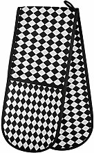 TropicalLife OOWOW Double Oven Glove Classic Black