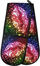 TropicalLife OOWOW Double Oven Glove Glitter Sexy