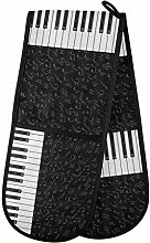 TropicalLife OOWOW Double Oven Glove Piano