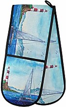 TropicalLife OOWOW Double Oven Glove Watercolor