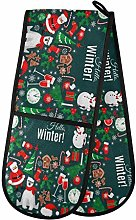 TropicalLife OOWOW Double Oven Glove Winter