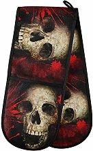 TropicalLife SunsetTrip Halloween Skull Blood
