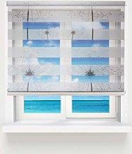 Tropik home Day and Night Zebra Window Roller