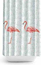 Tropik home Extra Long And Wide Fabric Shower