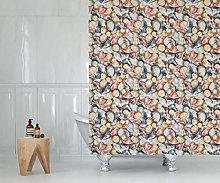 Tropik home Extra Long Bathroom Fabric Shower