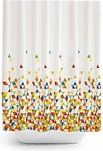 Tropik home Quality Extra Long Fabric Shower
