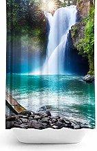 Tropik home Waterfall Extra Long Fabric Shower