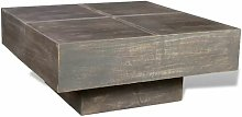 Troy Coffee Table Union Rustic Colour: Dark Brown