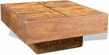 Troy Coffee Table Union Rustic Colour: Light Brown