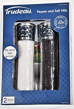 Trudeau 10 Inch Salt and Pepper Mill Set with