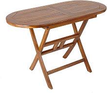 Trueshopping - Folding Wooden Teak Garden Table