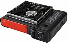 Tsdhjk Portable Camping Gas Stove, Cassette Grill