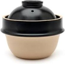 Tsukamoto Pottery - Black Clay Rice Cooker 2 Cup