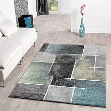 TT Home Hand-Tufted Deep-Pile Rug One Colour In