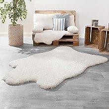 TT Home Long Pile XXL Fur Rug Modern Plain Plus