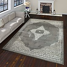 TT Home Oriental Rug Modern Baroque Pattern with