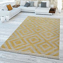 TT Home Yellow Rug, for Balcony, Outdoors, Patio,