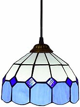 TTFFTT Tiffany Style Hanging Lamp Handmade Stained