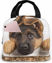 TTmom Lovely Dog German Shepherd Lunch Bag
