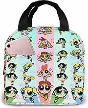 TTmom Lunch Bag Tote Beauty Powerpuff Girls