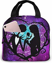 TTmom Lunch Bag Tote Jack and Sally Nightmare