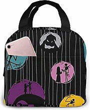 TTmom Lunch Bag Tote Jack Nightmare Before