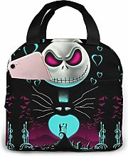 TTmom Lunch Bag Tote Lovely Jack Skellington