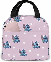 TTmom Lunch Bag Tote Lovely Stitch Lunchbox