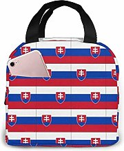 TTmom Originality Slovakia Flag Lunch Bag Reusable